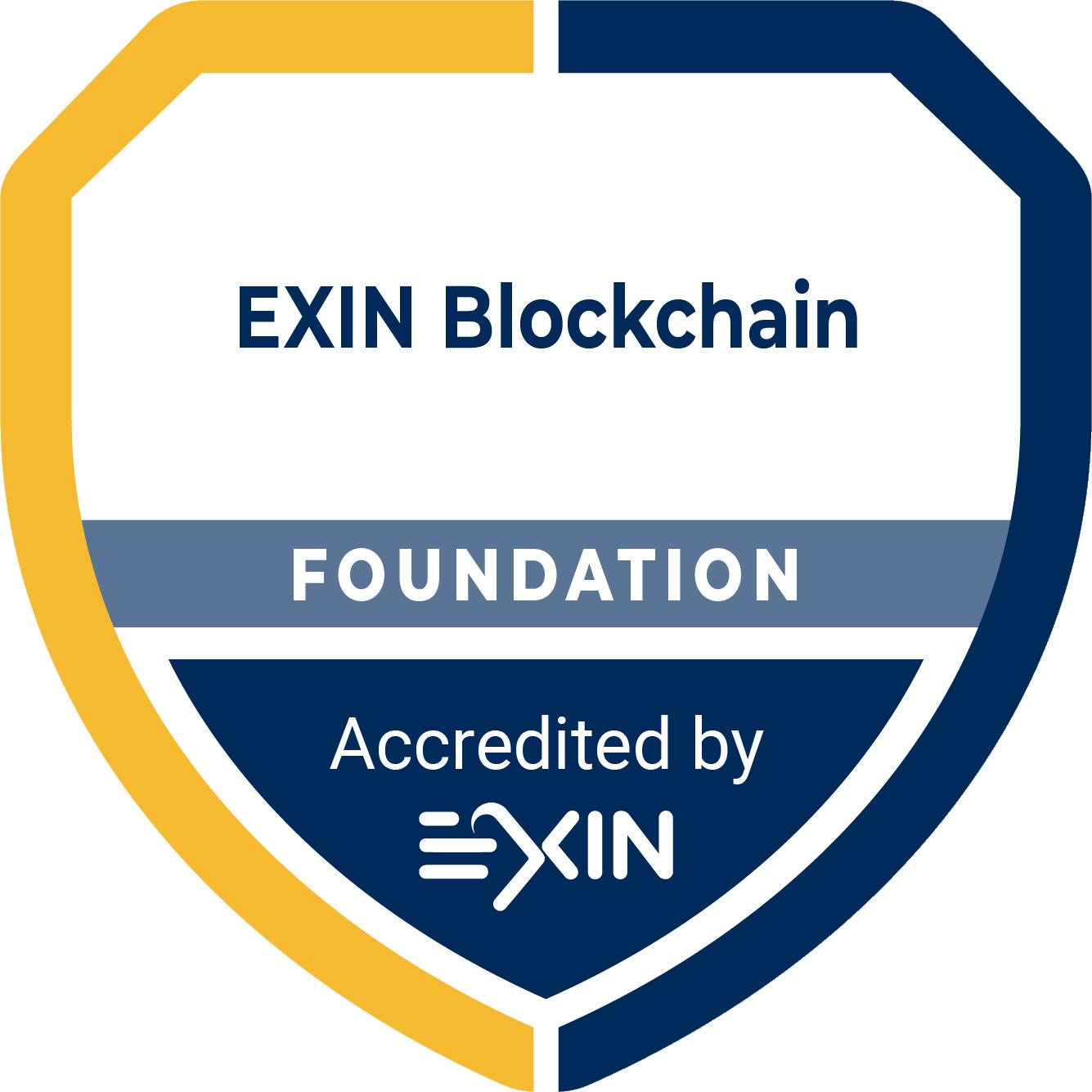Blockchain accreditation